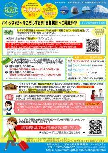 静岡県民割バイシズオカ旅行券 地域クーポン使えます 徳造丸